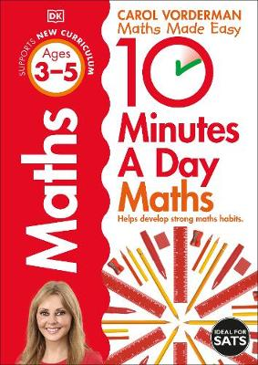 10 Minutes a Day Maths Ages 3-5 Key Stage 0