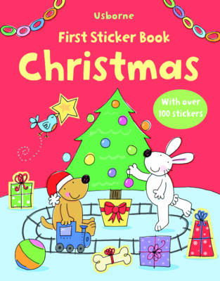 First Christmas Sticker Book