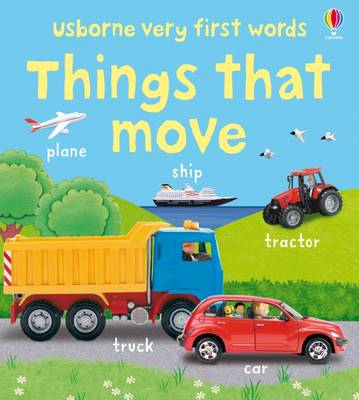 Very First Words: Things That Move