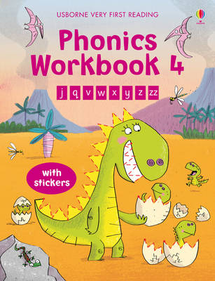 Phonics Workbook 4 Very First Reading