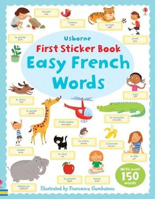 First Sticker Book Easy French Words