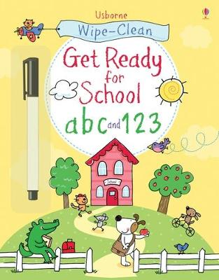 Wipe-Clean Get Ready for School ABC and 123