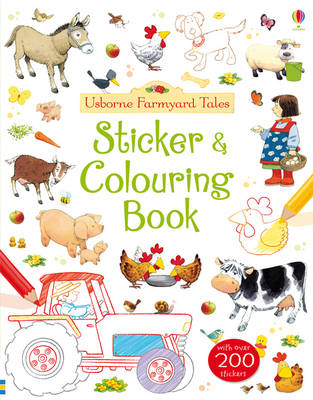 Farmyard Tales Colouring and Sticker Book