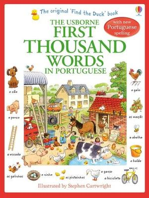 First Thousand Words in Portugese