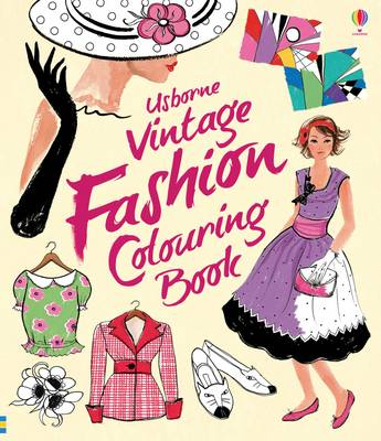Vintage Fashion Colouring Book
