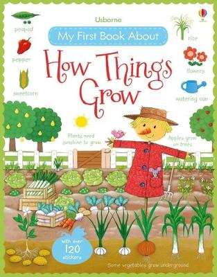 My First Book About How Things Grow Sticker Book