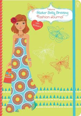 Sticker Dolly Dressing Fashion Notebook