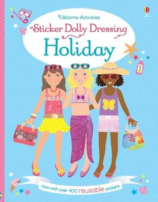 Sticker Dolly Dressing Holiday