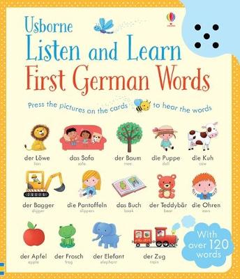 Listen and Learn First Words in German