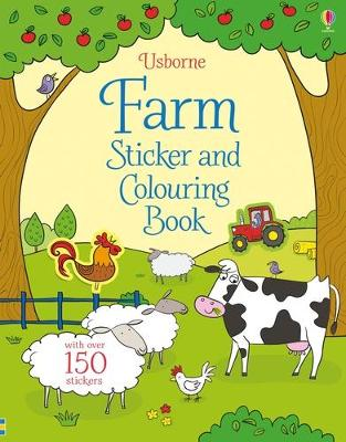 Farm Sticker and Colouring Book