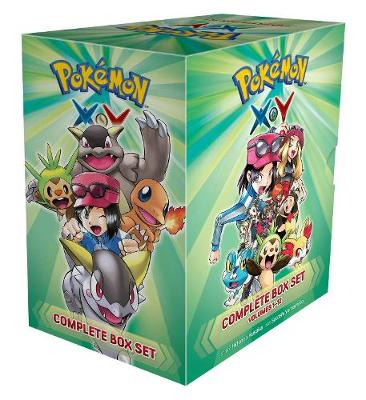 Pokemon X*Y Complete Box Set: Includes vols. 1-12