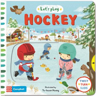 Let's Play... Hockey!: A Novelty Book for Children about Ice Hockey.