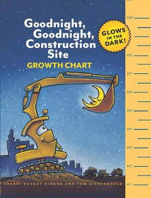 Goodnight, Goodnight, Construction Site Glow-in-the-Dark Growth Chart