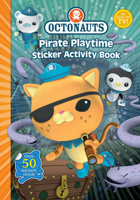 Octonauts Pirate Playtime Sticker Activity book
