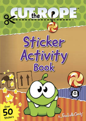 Cut the Rope Sticker Activity Book