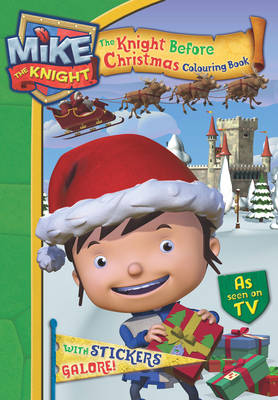 Mike the Knight: The Knight Before Christmas Sticker Activity