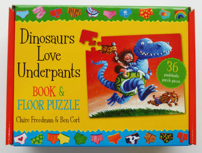 Dinosaurs Love Underpants Book and Jigsaw