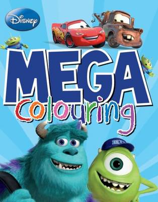 Disney Mega Colouring