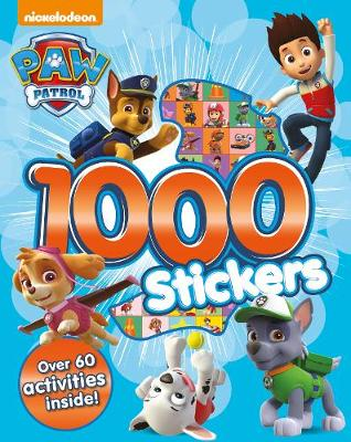 Nickelodeon PAW Patrol 1000 Stickers: Over 60 activities inside!
