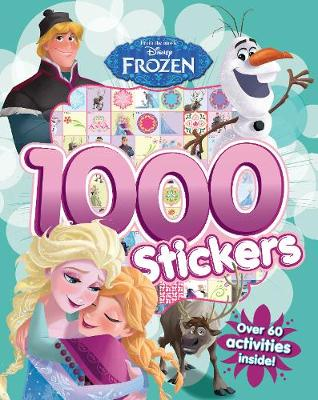 Disney Frozen 1000 Stickers: Over 60 activities inside!