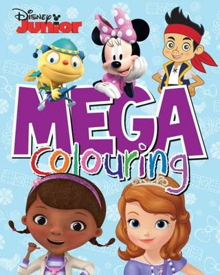 Disney Junior Mega Colouring