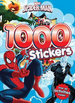 Marvel Spider-Man 1000 Stickers: Over 60 activities inside!