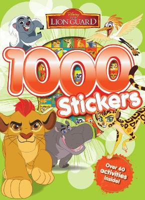 Disney Junior The Lion Guard 1000 Stickers