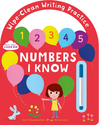 Start Little Learn Big Numbers I Know: Wipe-Clean Writing Practice