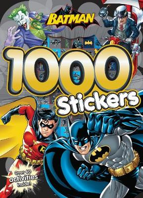 Batman 1000 Stickers: Over 60 Activities Inside!