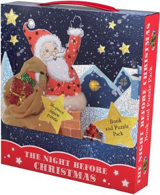 The Night Before Christmas Book and Puzzle Pack: 36-piece Jigsaw Puzzle