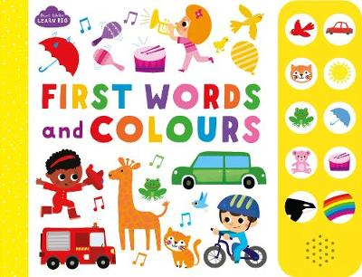 Start Little Learn Big First Words and Colours
