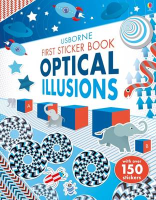 First Sticker Book Optical Illusions