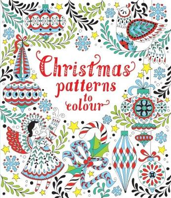 Review Book 15 Christmas Patterns To Colour