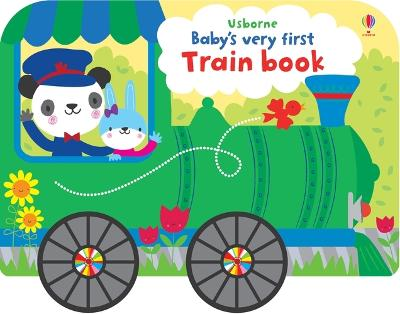 Baby's Very First Train Book