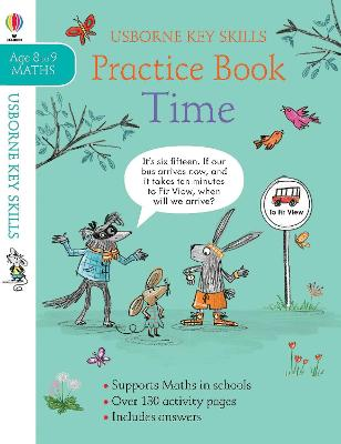 Time Practice Book 8-9