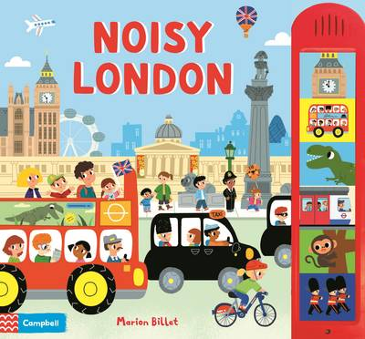 Noisy London: A Big Board Book with 6 Sounds to Press