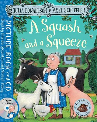A Squash and a Squeeze: Book and CD Pack