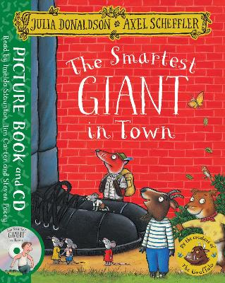 The Smartest Giant in Town: Book and CD Pack