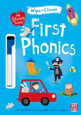 I'm Starting School: First Phonics: Wipe-clean book with pen