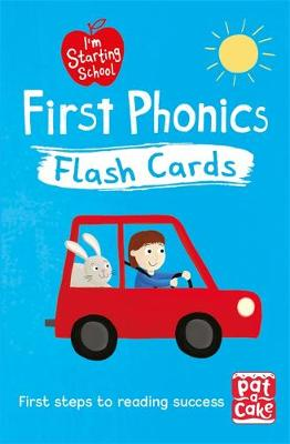 I'm Starting School: First Phonics Flash Cards: Essential flash cards for all English phonics sounds