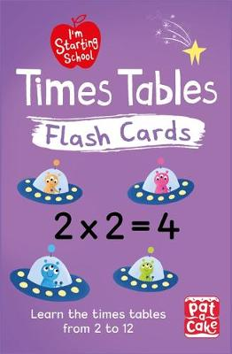 I'm Starting School: Times Tables Flash Cards: Essential flash cards for times tables from 1 to 12