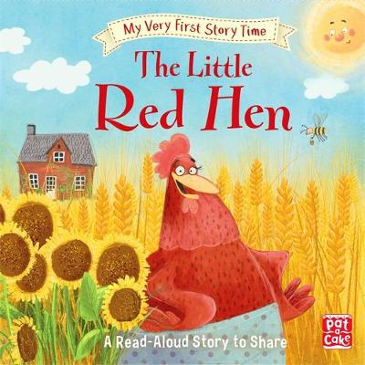 My Very First Story Time: The Little Red Hen: Fairy Tale with picture glossary and an activity