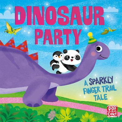 Finger Trail Tales: Dinosaur Party