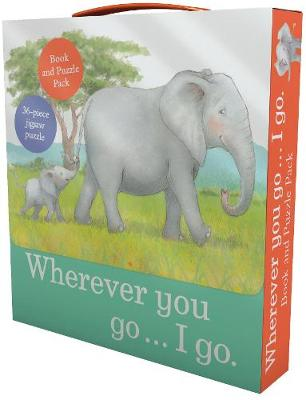 Wherever You Go... I Go Book and Puzzle Pack: 36-Piece Jigsaw Puzzle