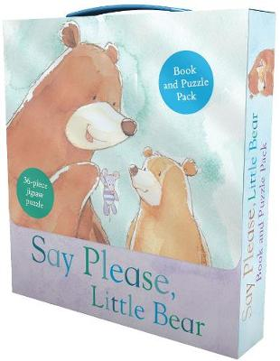 Say Please, Little Bear Book and Puzzle Pack: 36-Piece Jigsaw Puzzle