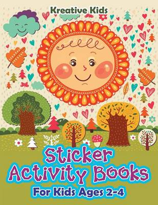 Sticker Activity Books for Kids Ages 2-4