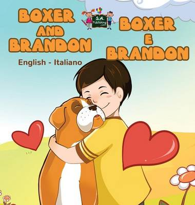 Book Pages Boxer And Brandon E English Italian Bilingual Edition