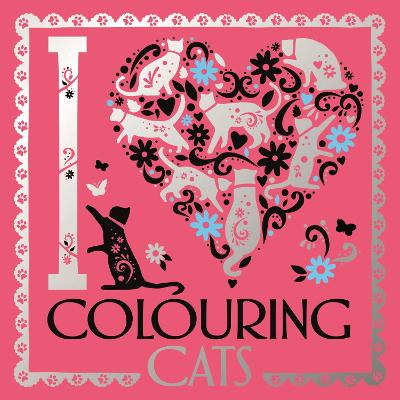 I Heart Colouring Cats