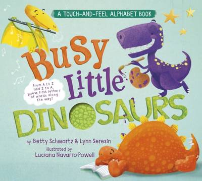 Busy Little Dinosaurs: A Back-and-Forth Alphabet Book