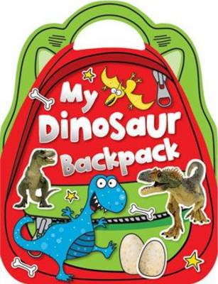 My Dinosaur Backpack: Shaped Sticker Activity Books